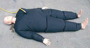 Rescue exercise training manikin / bariatric 1500 Simulaids