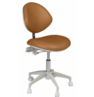 Dental stool / on casters / height-adjustable / with backrest Deluxe Doctor's Summit Dental Systems