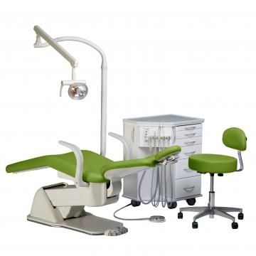 Orthodontic treatment unit with electro-mechanical chair Biscayne E.L. Orthodontic Package # 2 Summit Dental Systems