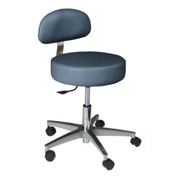 Dental stool / height-adjustable / on casters / with backrest Standard Doctor's Summit Dental Systems