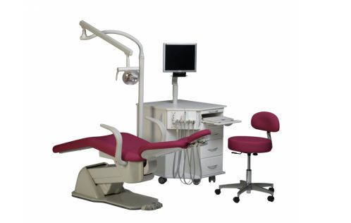 Orthodontic treatment unit with electro-mechanical chair Biscayne E.L. Orthodontic Package # 3 Summit Dental Systems