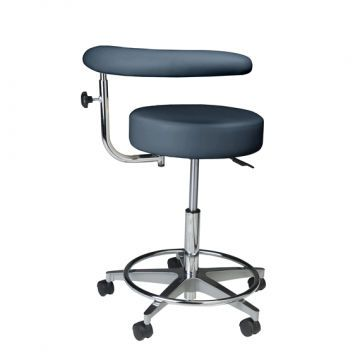 Dental stool / on casters / height-adjustable / with armrests Standard Assistant's Summit Dental Systems