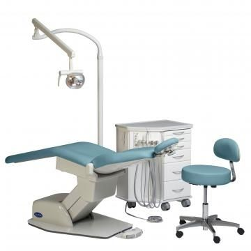 Orthodontic treatment unit with hydraulic chair Biscayne Orthodontic Package # 2 Summit Dental Systems