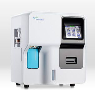 Automatic hematology analyzer / leukocyte distribution / 20-parameter 60 tests/h   XP-300 Sysmex Europe GmbH