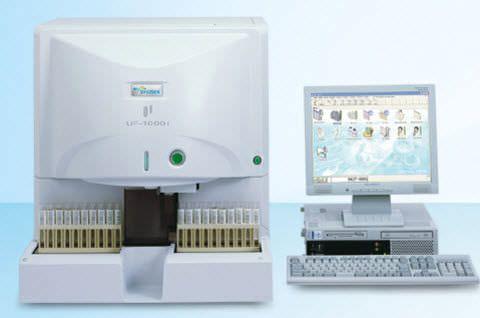 Automatic urine analyzer 100 tests/h   UF-1000i Sysmex Europe GmbH