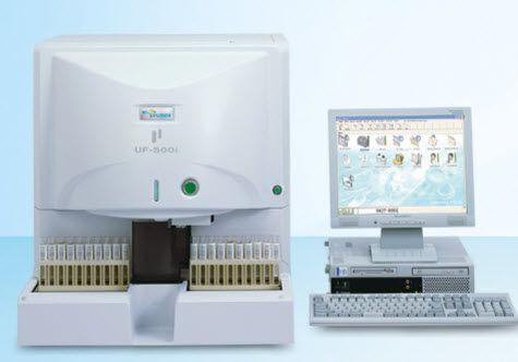 Automatic urine analyzer 60 tests/h   UF-500i Sysmex Europe GmbH
