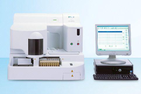 Automatic coagulation analyzer 180 tests /h   CS-2100i Sysmex Europe GmbH