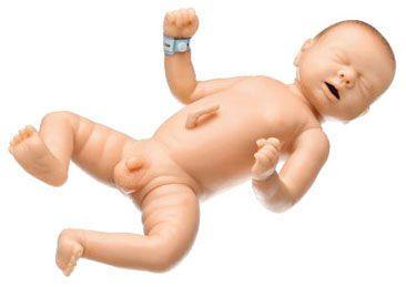 Care training manikin / infant / male MS 58 SOMSO