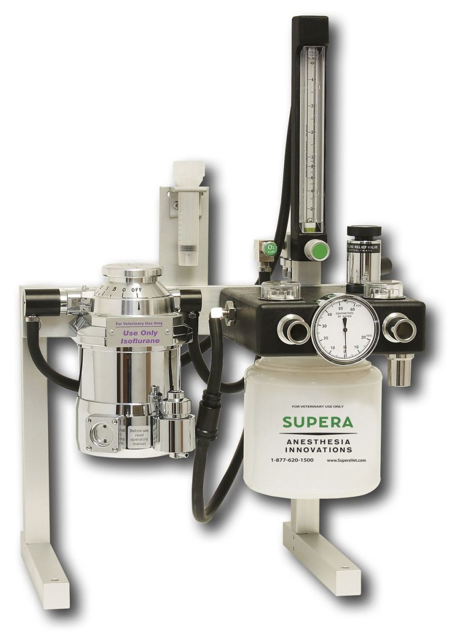 Veterinary anesthesia workstation / portable M4000 Supera Anesthesia Innovations