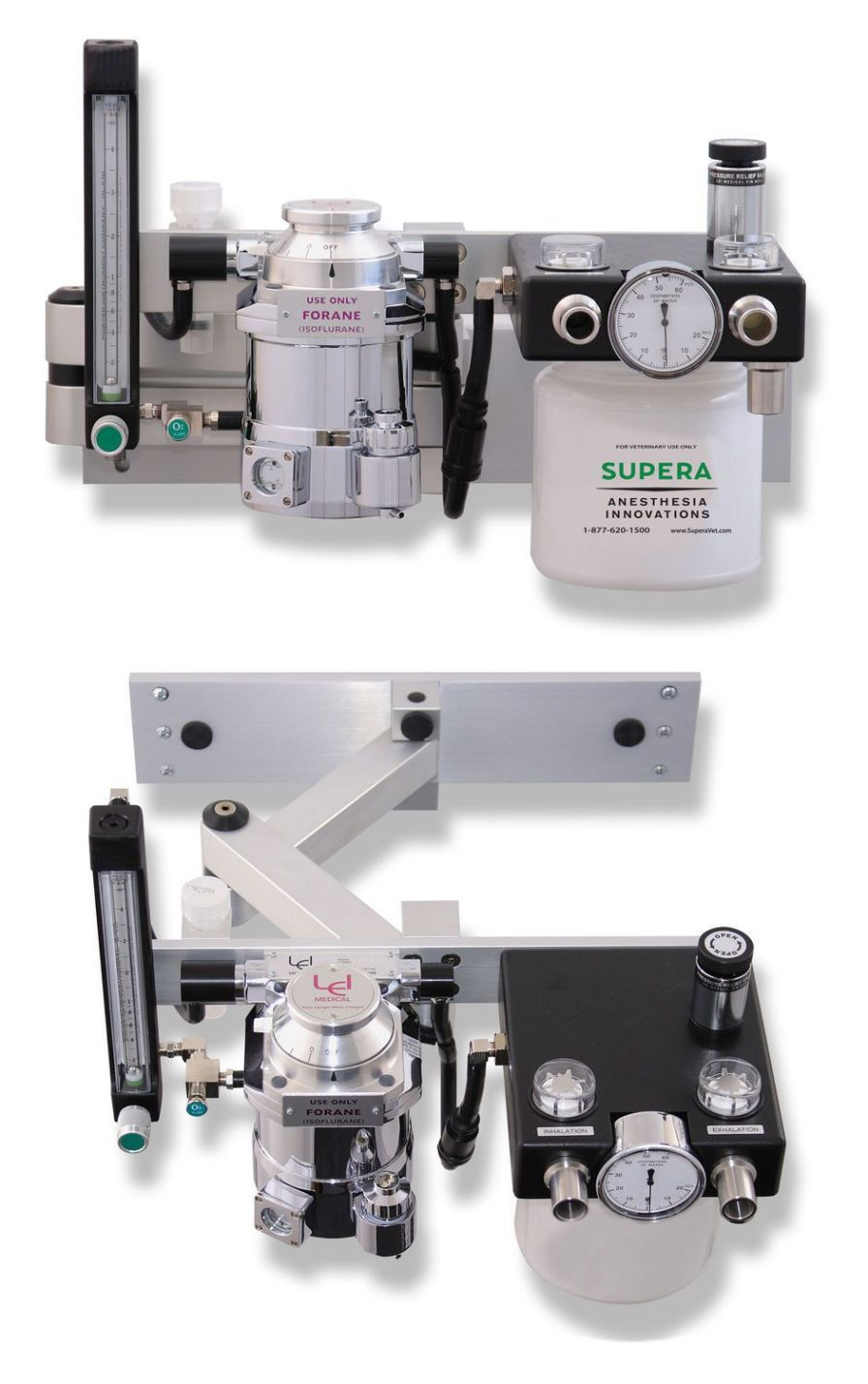 Veterinary anesthesia workstation / wall-mounted M2500 Supera Anesthesia Innovations