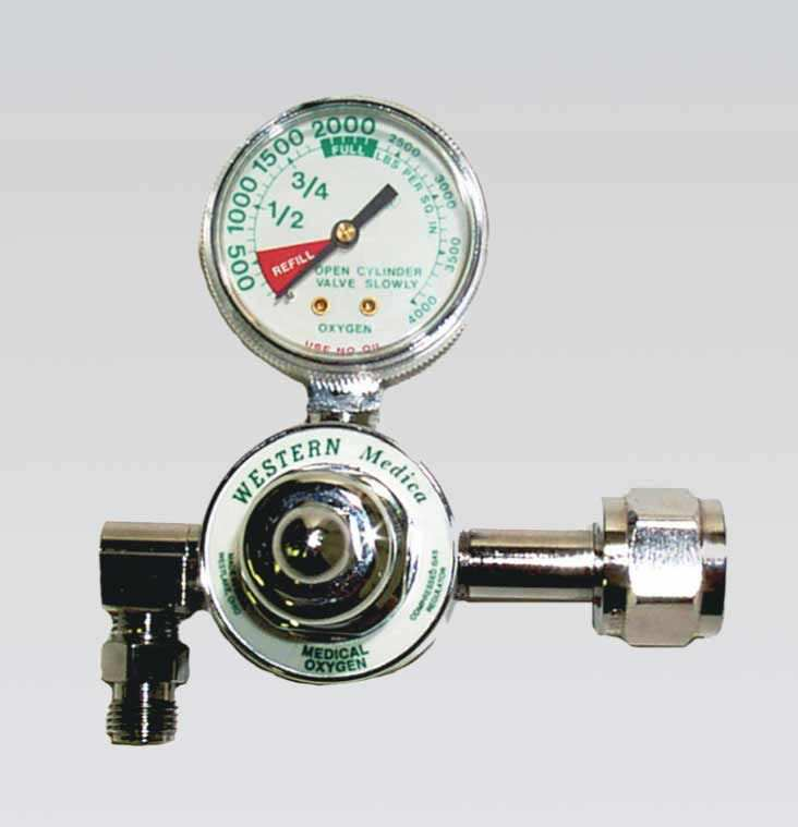 Oxygen pressure regulator / fixed-flow OXY508 H-Tank Supera Anesthesia Innovations