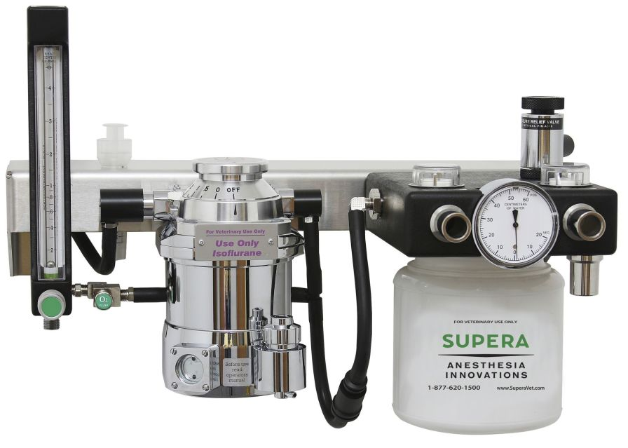 Veterinary anesthesia workstation / wall-mounted M2300 Supera Anesthesia Innovations