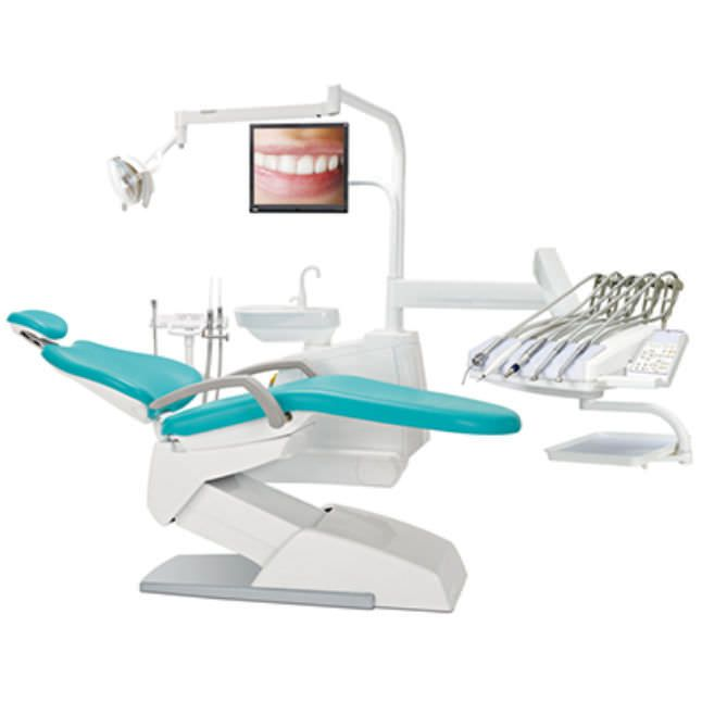 Dental treatment unit with delivery system / with lamp V200 Suzhou Victor Medical Equipment