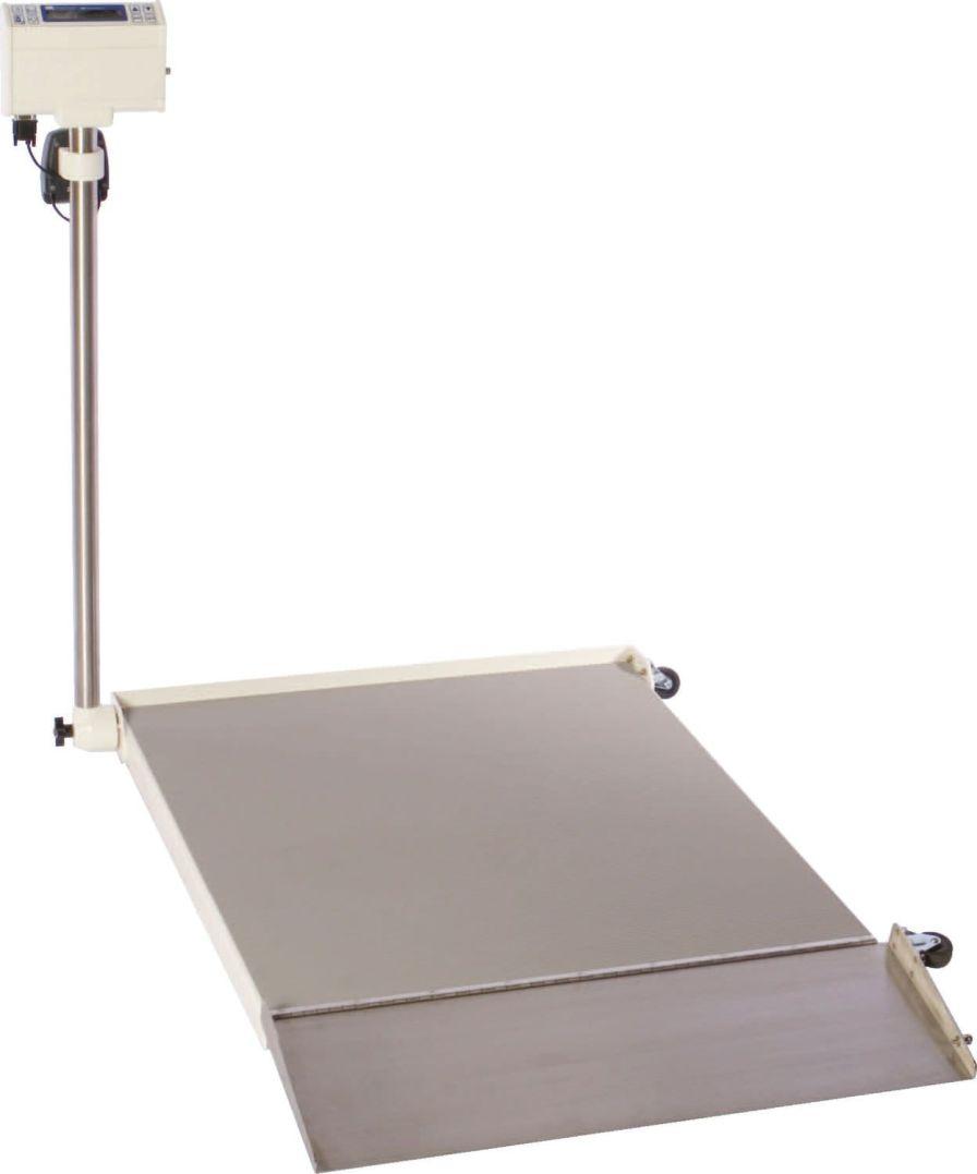 Electronic platform scale / foldable 454 Kg | SR725I SR Instruments