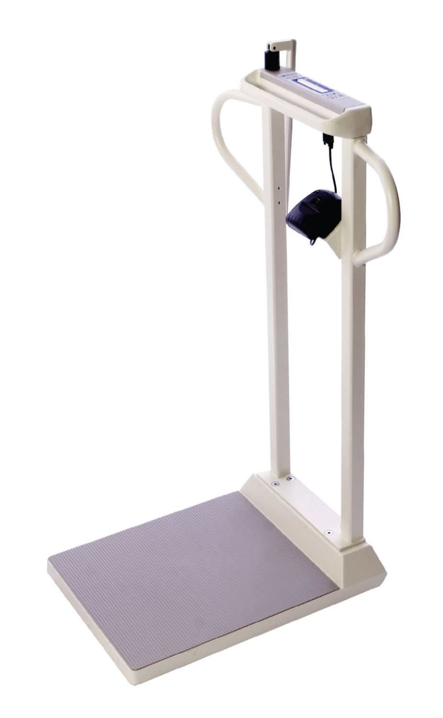 Bariatric patient weighing scale / electronic / column type / with height rod 454 Kg - 109-199 cm | SR565I SR Instruments