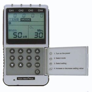 Electro-stimulator (physiotherapy) / hand-held / TENS / EMS TWIN STIM PLUS Spinal Rehab Solutions