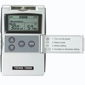 Electro-stimulator (physiotherapy) / hand-held / TENS / 2-channel TENS 7000 Spinal Rehab Solutions