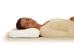 Medical pillow / visco-elastic / foam / anatomical Temp-Control® Sissel