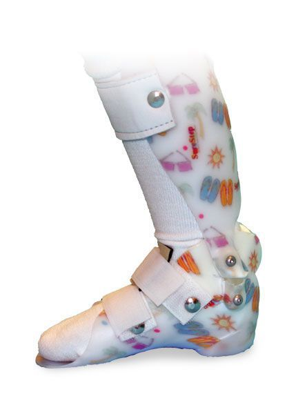 Ankle and foot orthosis (AFO) (orthopedic immobilization) / articulated / pediatric Pullover SureStep