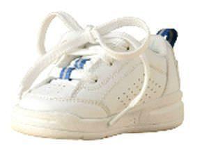 Pediatric orthopedic shoe Blue Trim SureStep