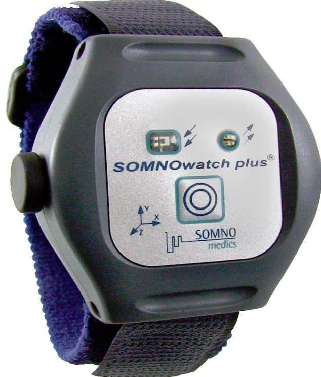 Ambulatory vital sign recorder SOMNOwatch™ plus RESP SOMNOmedics