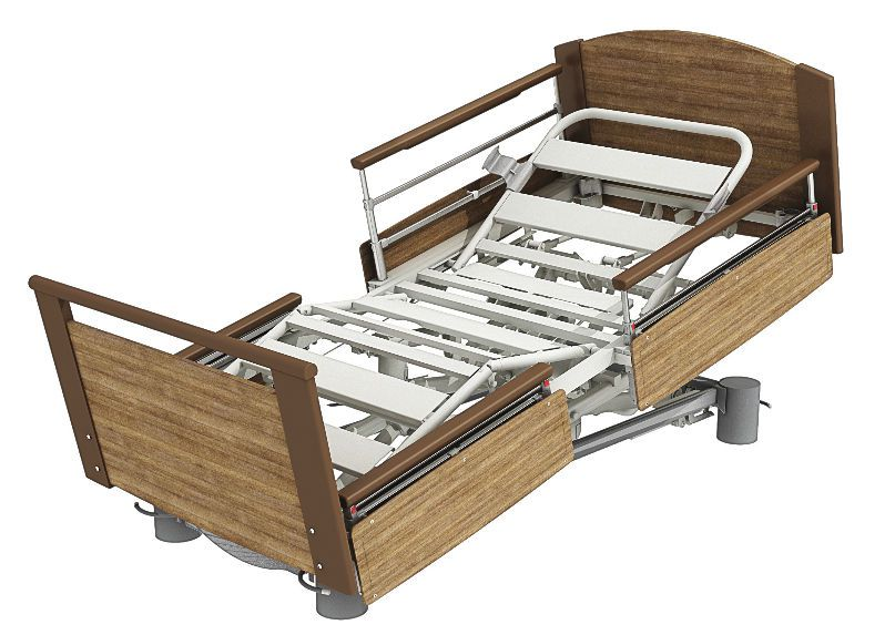 Electrical bed / height-adjustable / 4 sections Aubance Sotec Medical