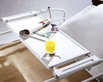 Bed tray on bed rail / universal 4811-00002 Sotec Medical