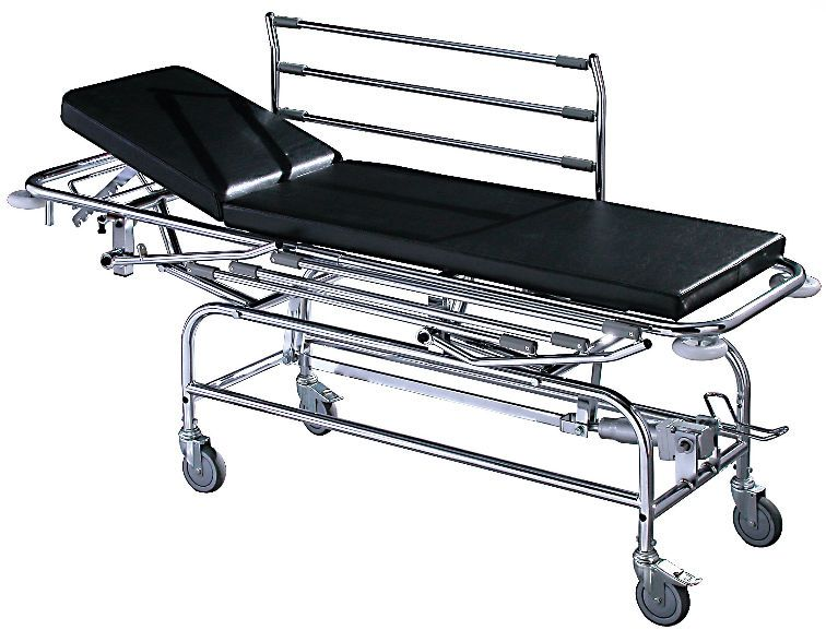 Transport stretcher trolley / height-adjustable / hydraulic / 2-section 2007 Sotec Medical