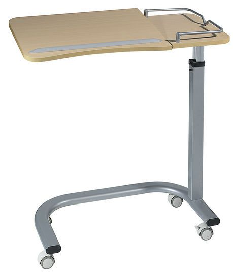 Reclining overbed table / on casters / height-adjustable 4807 Sotec Medical
