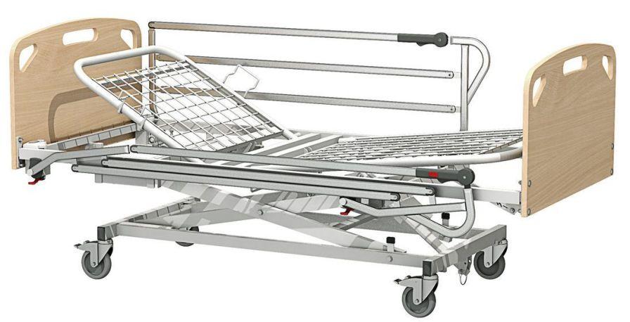 Nursing home bed / electrical / on casters / height-adjustable Atlantique Sotec Medical
