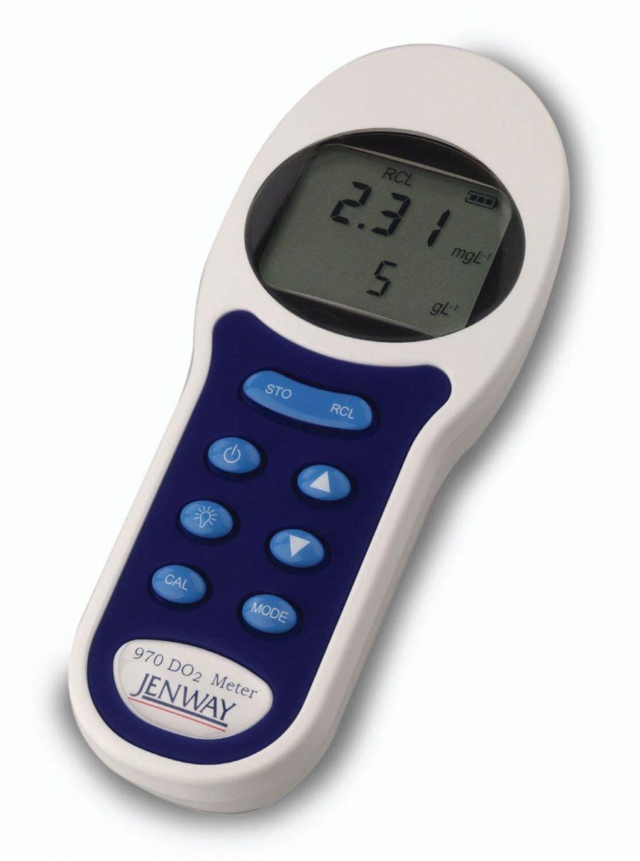 Portable dissolved oxygen analyzer 970 Jenway