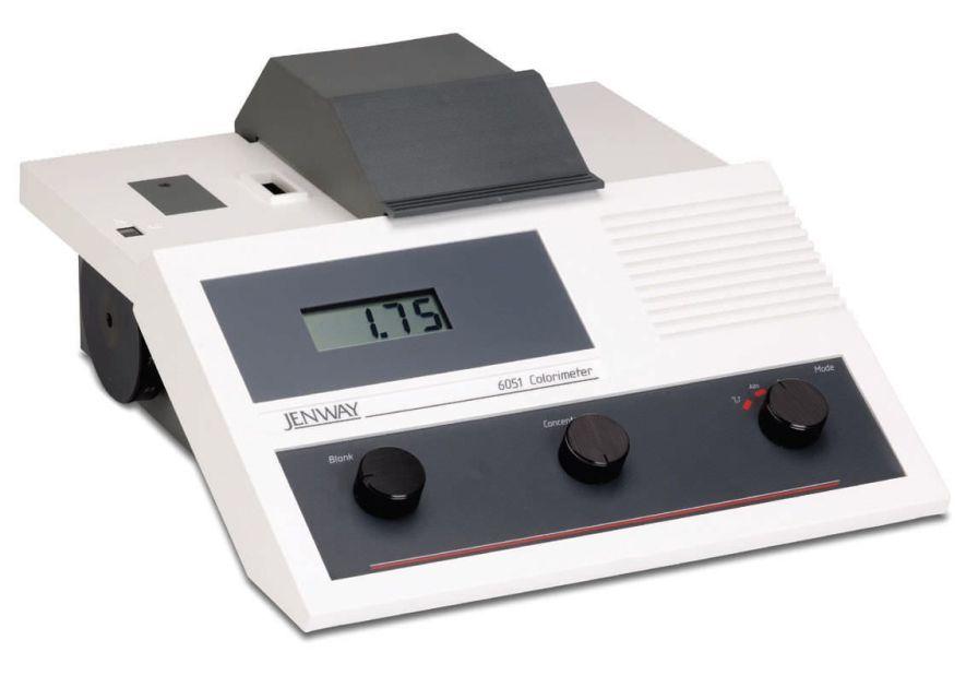 Colorimeter laboratory 400 - 710 nm | 6051 Jenway