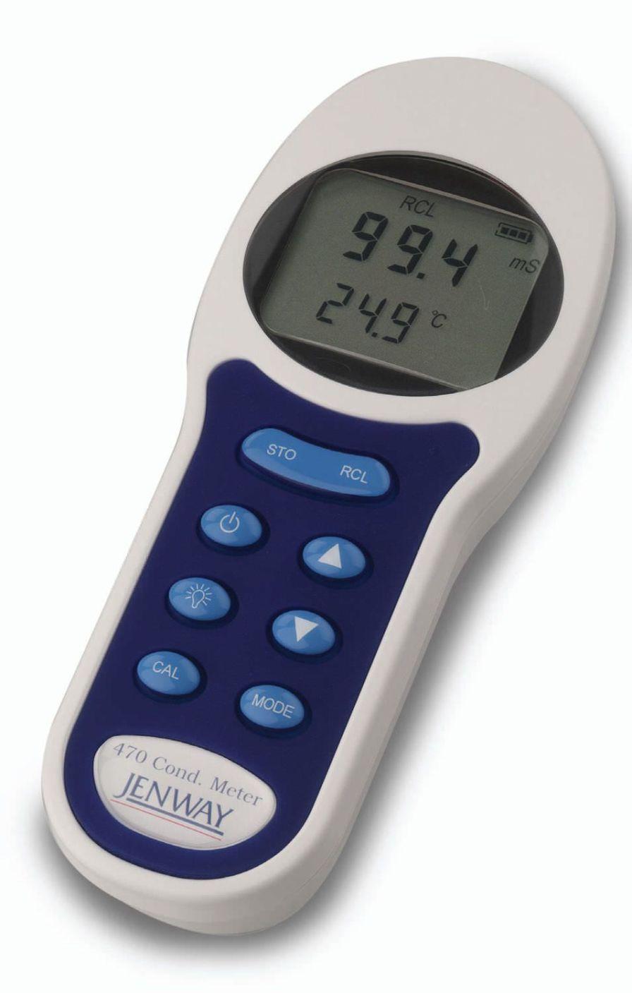 Conductivity meter laboratory / portable 0 - 1999 mS   470 Jenway