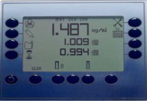 UV-visible absorption spectrometer 190 - 1000 nm   Genova Plus Jenway