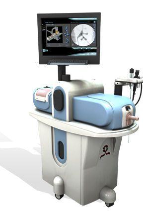 Urinary endoscopy training simulator URO Mentor™ Simbionix