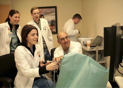 Hysteroscopy training simulator VirtaMed HystSim™ Simbionix