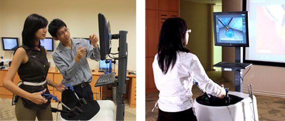 Laparoscopy training simulator LAP Mentor™ III Simbionix