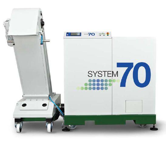 Medical waste treatment system / with shredder System 70 Sterimed