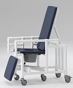 Shower chair / with bucket / on casters SCC 250 RC RCN MEDIZIN