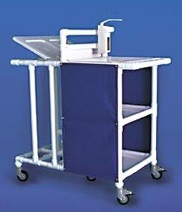 Dirty linen trolley / clean linen / with shelf / 2-bag MC 630 ESP FP RCN MEDIZIN