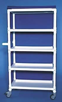 Storage cart / linen / 4-shelf MLC 304 RCN MEDIZIN