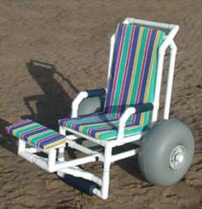 Passive wheelchair / amphibious / exterior / with legrest SM 750 BA RCN MEDIZIN