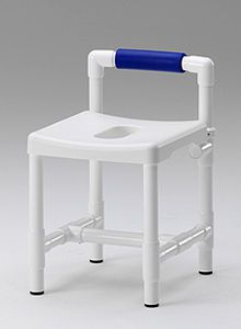 Shower stool with cutout seat DH 49 RL RCN MEDIZIN