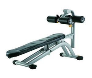 Abdominal crunch bench (weight training) / abdominal crunch / traditional / adjustable A995 SportsArt Fitness