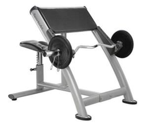 Larry Scott bench (weight training) / arm curl / traditional A999 SportsArt Fitness