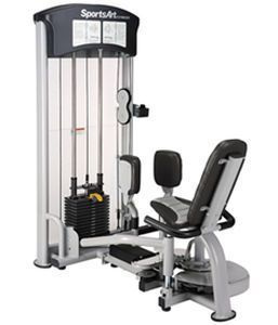 Weight training station (weight training) / legs abduction / leg adduction / traditional DF-102 SportsArt Fitness