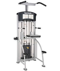 Weight training station (weight training) / seated dips / traditional DF-107 SportsArt Fitness