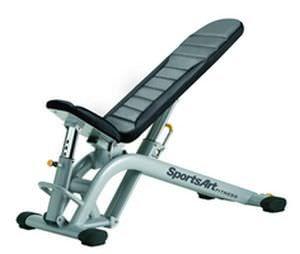 Weight training bench (weight training) / rehabilitation / adjustable A991 SportsArt Fitness