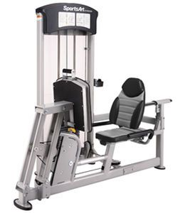 Weight training station (weight training) / leg press / traditional DF-101 SportsArt Fitness