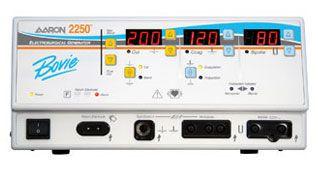 Monopolar cutting HF electrosurgical unit / monopolar coagulation AARON® 2250 Bovie Medical Corporation